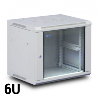 Toten 6U wall mount rack, 600W x 600D