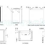 Toten 12u Wall Mount Rack Cabinet 12u 19 W600 X D600mm