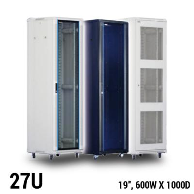 Toten 27U server rack, 600 x 1000