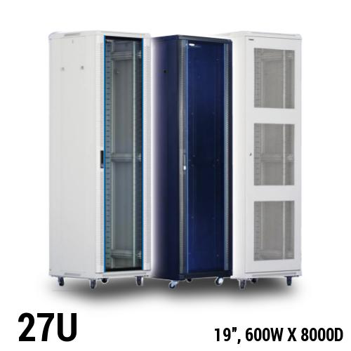 Toten 27U server rack, 600 x 800