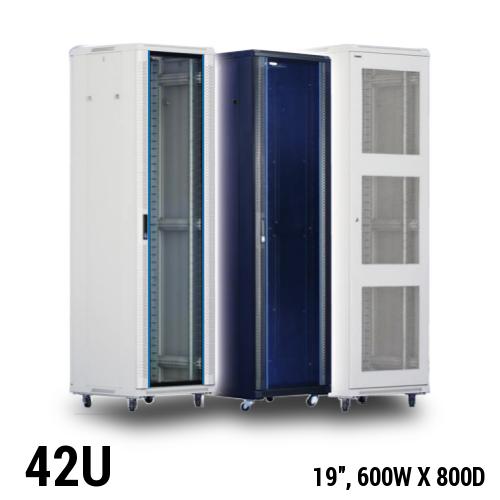 Toten 42U server rack, 600 x 800