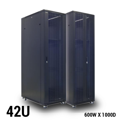 Toten 42U Server Rack Pro 600x1000